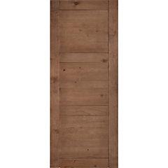 Pack puerta amadeuss 3 tableros cipres 200x90, 5 unidades