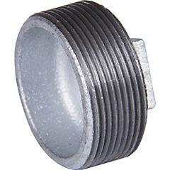 Tapón BSP fierro galvanizado 1