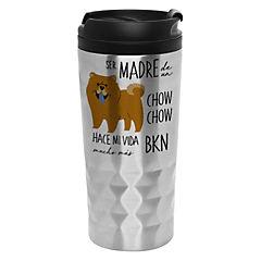 Mug diamantado chow chow