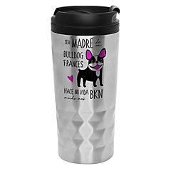 Mug diamantado bull dog francés byn