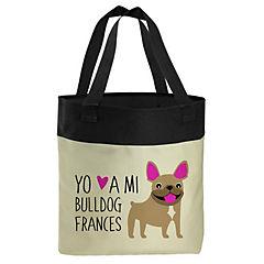 Bolso bull dog francés cafe