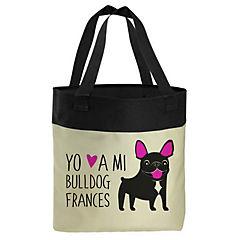 Bolso bull dog francés negro