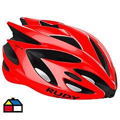 Casco bicicleta Cerro Liviano Rush Talla M Color Rojo