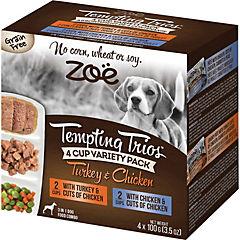 Alimento húmedo para perro Trío 4 unidades pavo/pollo