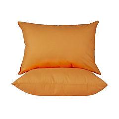 Pack 2 almohadas americana naranjo