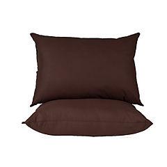 Pack 2 almohadas americana café