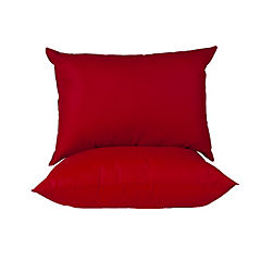 Pack 2 almohadas americana rojo italiano