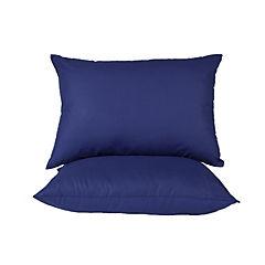 Pack 2 almohadas americana azul
