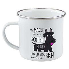 Tazón enlozado scotish terrier