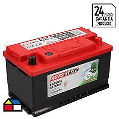 Batería 80 A Derecho Positivo 750 CCA