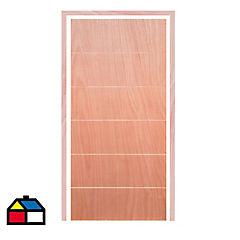Puerta interior 75x200 cm verona con marco 30x70 mm 5,4 m