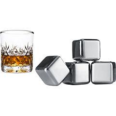 Set 4 rocas enfriadoras whiskey