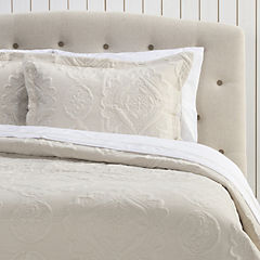 Quilt + sábana portugal beige 2 plazas