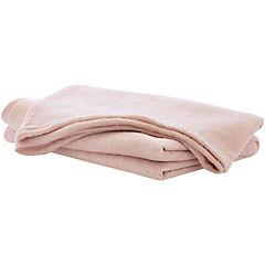 Manta brillos 130x160 cm rosa