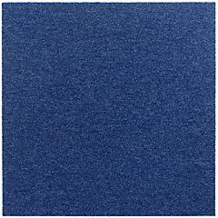 Alfombra en palmeta azul 50x50 cm 20 unidades