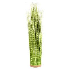 Planta artificial grass zebra verde 114 cm