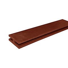 Perfil h treillage 2,40 m rojo
