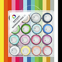 Spray base agua pack 16 colores 100 ml