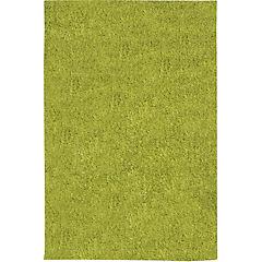 Alfombra Shaggy 133x180 verde