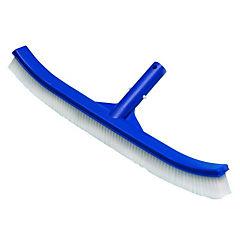 Escobilla plástica para limpieza de piscina