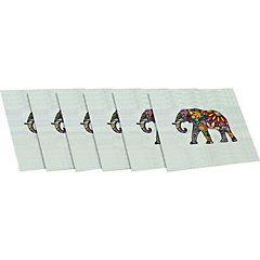 Set 6 posavasos elefante