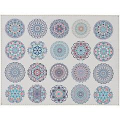 Individual mandalas Azules 42x32 cm