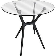 Mesa de comedor 70x70x70,5 cm Negra