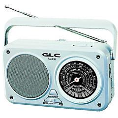 Radio portátil AM/FM gris