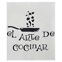 Autoadhesivo arte de cocinar 40x46,5