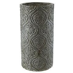 Maceta diseño 48 cm gris