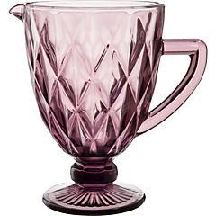 Jarra vidrio 1,2 litros purple