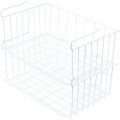 Canasto organizador blanco 15x28x42 cm
