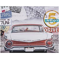 Canvas 40x50 cm auto clasico 2