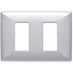 Placa doble  S22 aluminio
