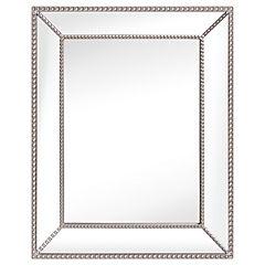 Espejo rectangular biselado 52X42 cm