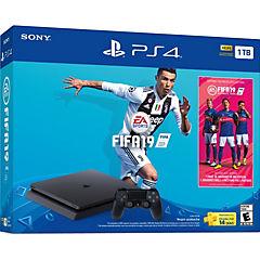 Consola Playstation 4 1TB + Juego Fifa 19