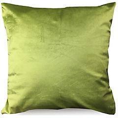 Cojín velvet verde 45 x 45 cm