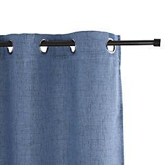 Cortina unicornio azulino/argollas 140X220x1 cm