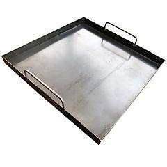 Plancha churrasquera para parrilla o cocina 40x40cm
