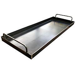 Plancha churrasquera para parrilla o cocina 60x40cm
