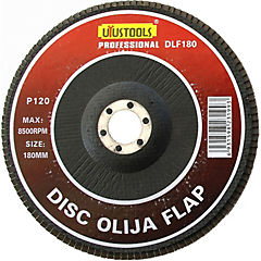 Disco lija flap 180x120 mm