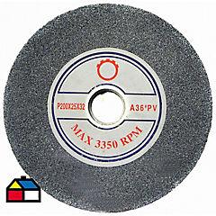 Piedra para esmeril eléctrico 8  36  (20un)