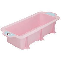 Molde para queque rosado