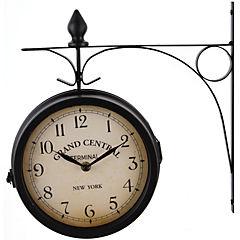 Reloj muro metalico estacion 33 cm