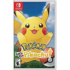 Juego Nintendo Switch Pokemon Let's Go Pikachu!