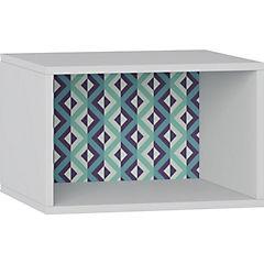 Módulo rectangular 30x45x28 cm Blanco