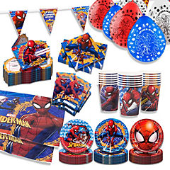 Pack básico spiderman 18 personas