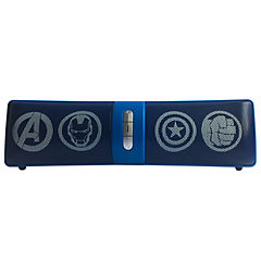 Parlante barra Avengers Marvel bluetooth