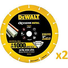 Pack 2 discos abrasivos de corte diamantado 9