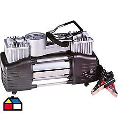 Compresor mini doble pistón 300 W
